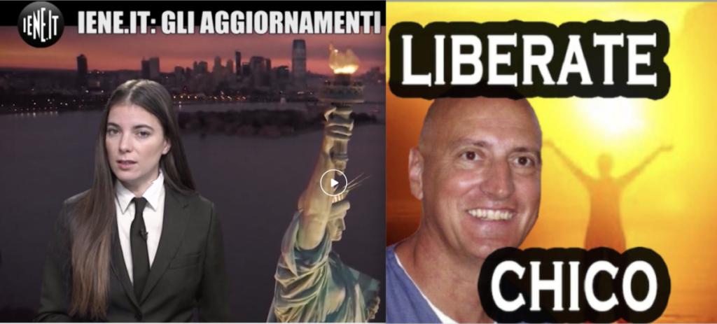 """ALBARIA – """"LE IENE tornano a parlare di Chico Forti, martedì 19 novembre ore 23:30 sulla rete televisiva Italia Uno"""""""