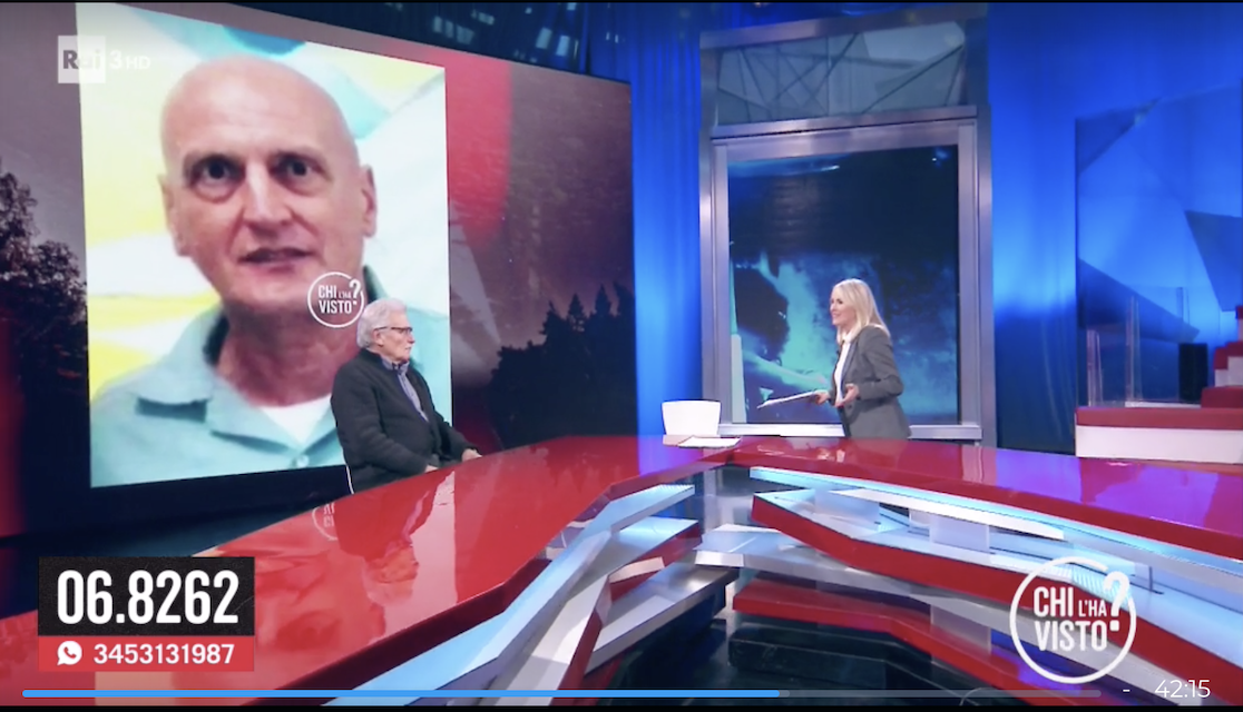 """ALBARIA – """"Il caso di Chico Forti raccontato da Chi L'ha Visto. Riccardo Fraccaro, sottosegretario alla presidenza, conferma l'intervento dello Stato Italiano per il suo rilascio…"""""""