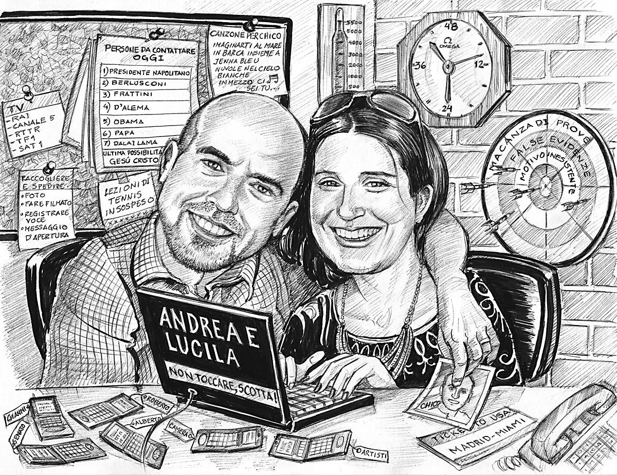 Andrea e Lucila