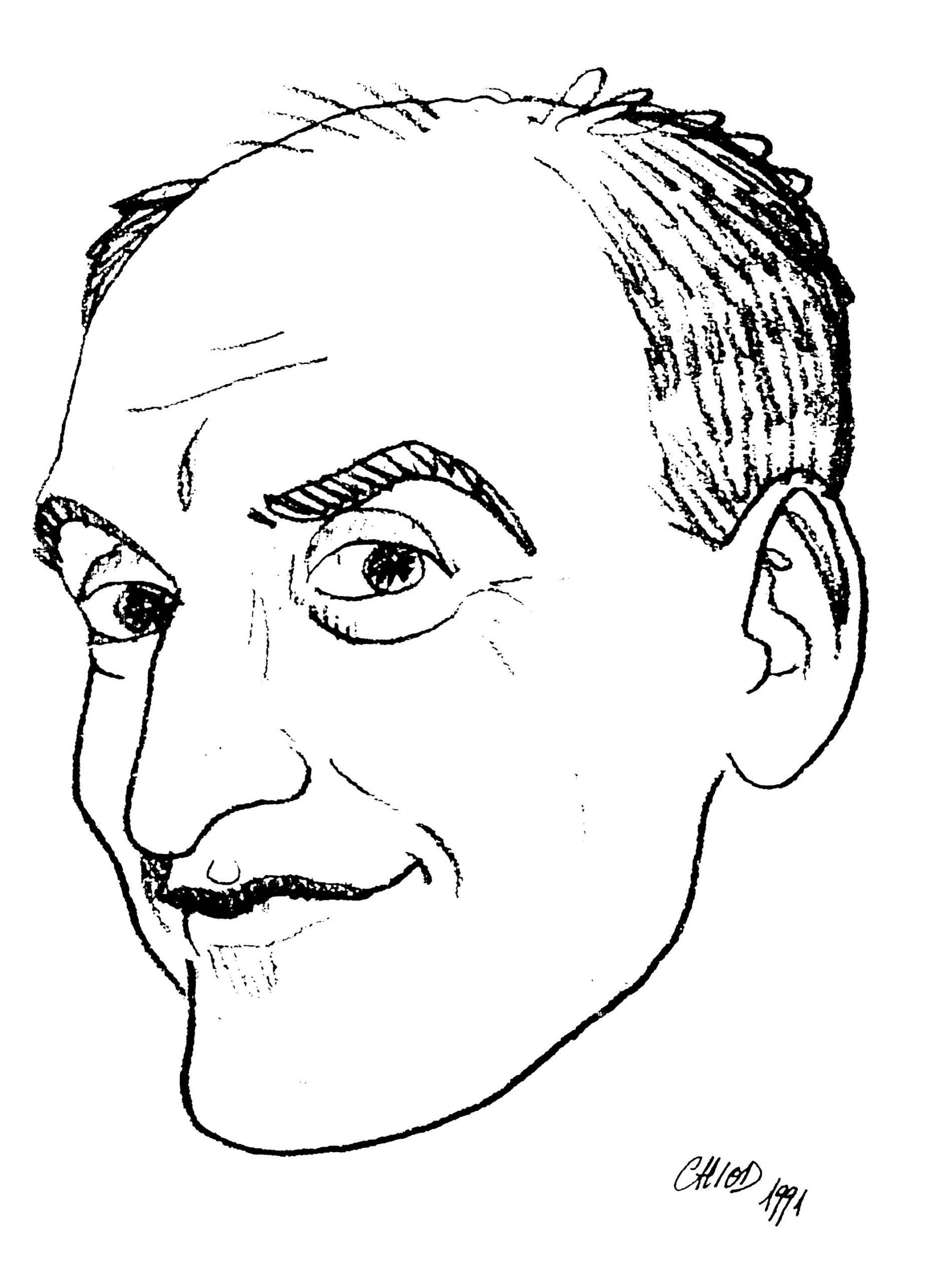 Massimo Chiodelli – caricatura Chico