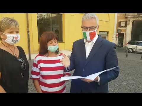 Deputato Federico Mollicone a Roma 17/09/2020