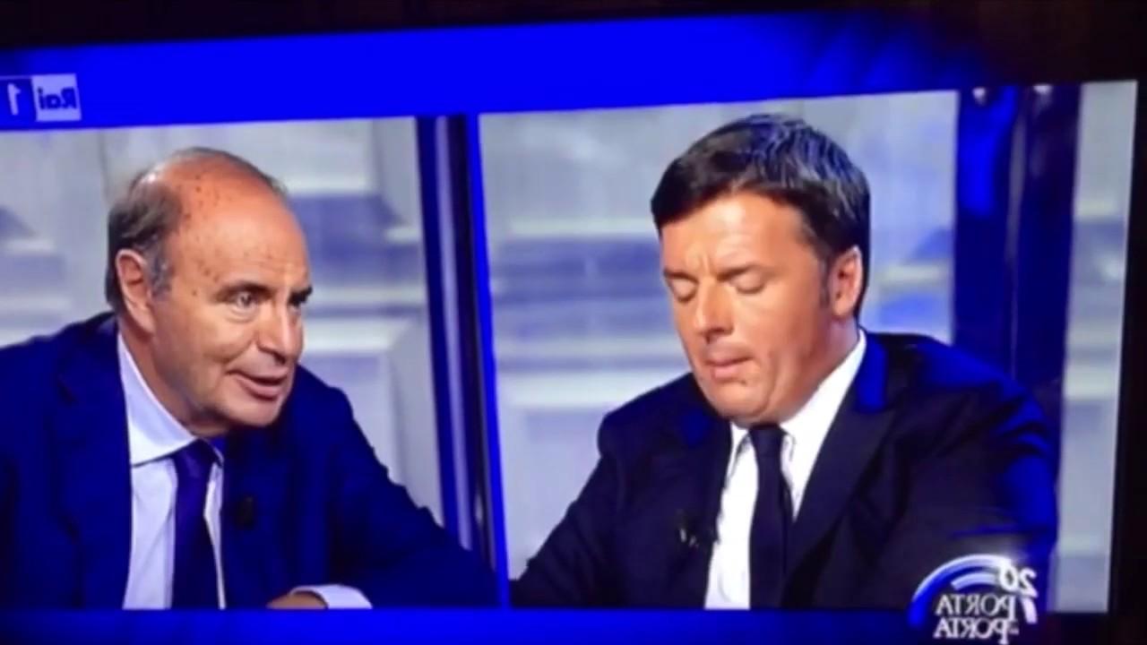 PORTA A PORTA – Renzi parla di Chico Forti