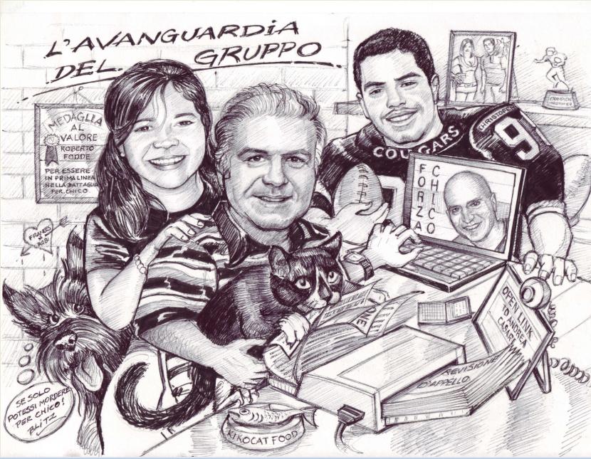 Roberto e famiglia
