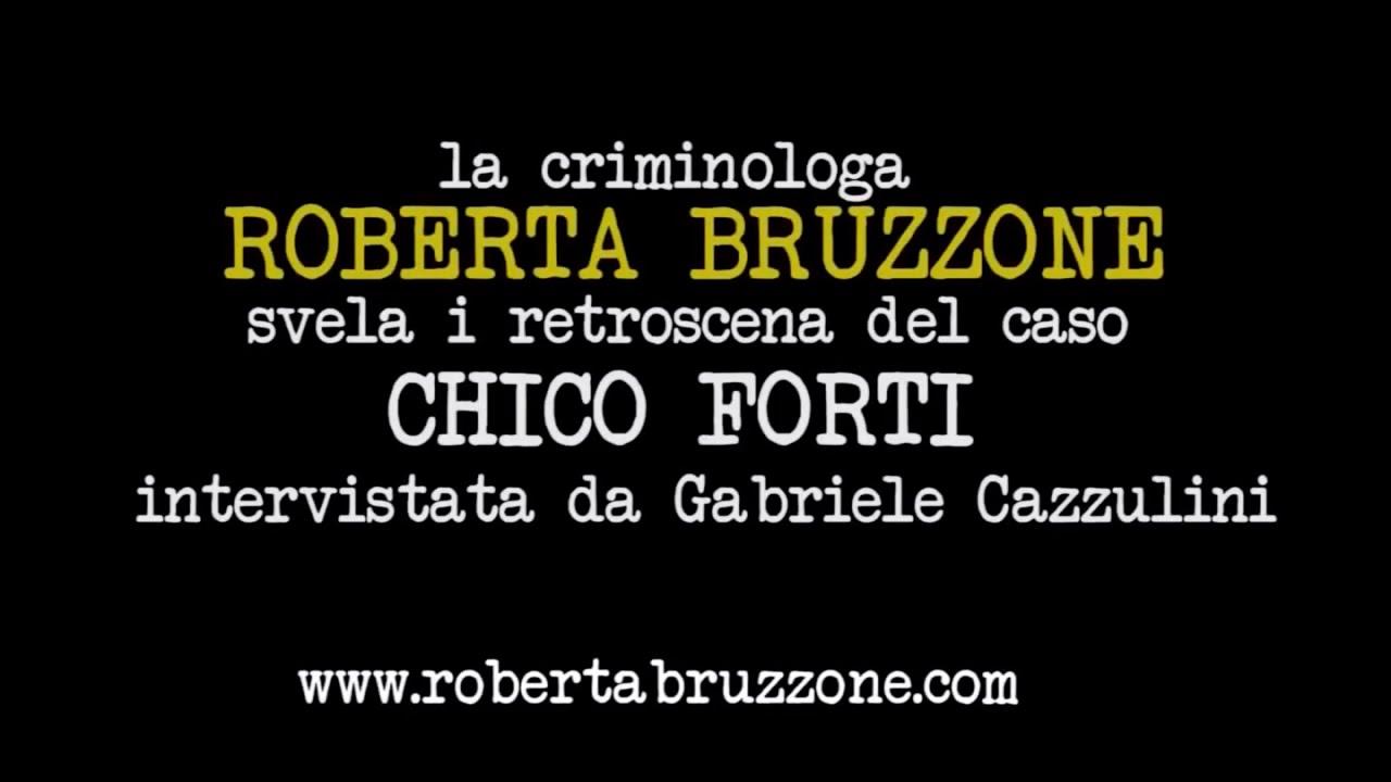 Roberta Bruzzone spiega l'innocenza di Chico Forti