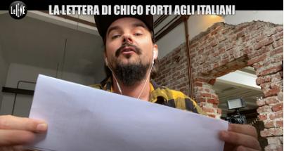 """11.LE IENE: """"Coronavirus, la lettera di Chico Forti agli italiani: """"Torneremo a lottare insieme"""""""
