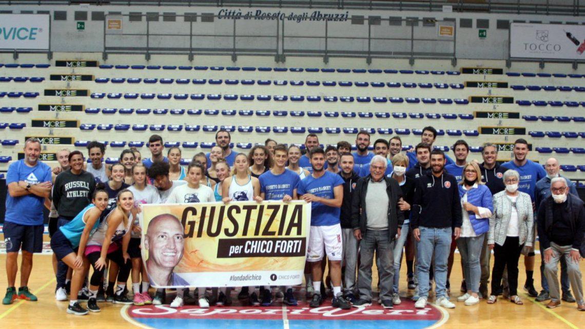 ROSETO BASKET per Chico Forti