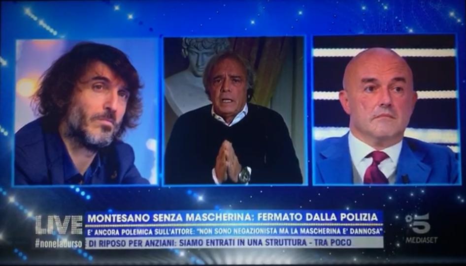Live non è la d'Urso: Enrico Montesano parla di Chico Forti