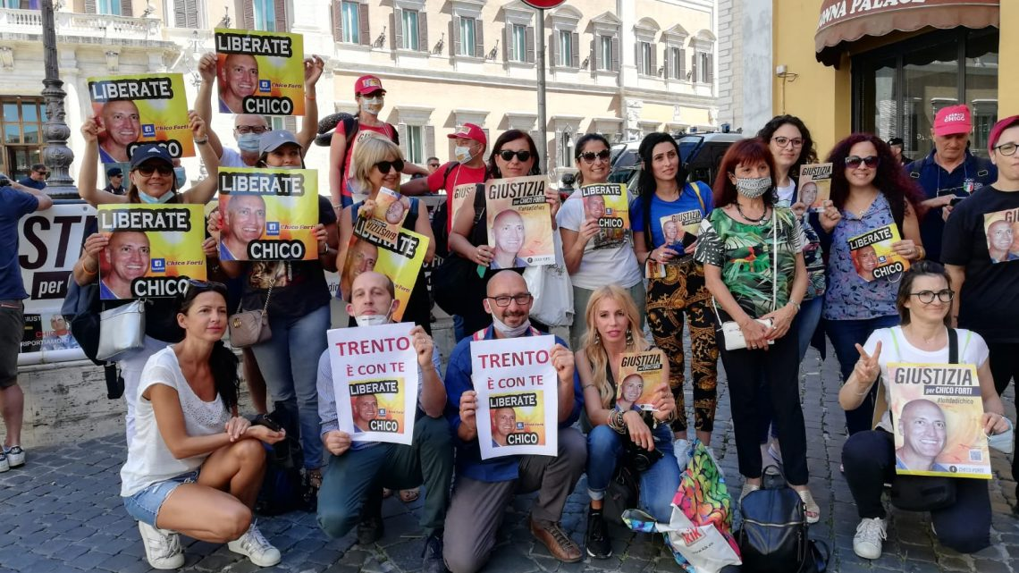 Audiomessaggio per il 21esimo anniversario e il Sit-in di Roma 13/10