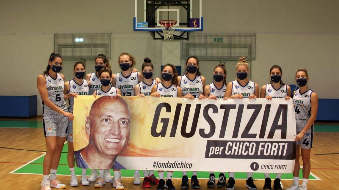 A2 BASKET FEMMINILE – Villafranca (VE), sostiene Chico Forti