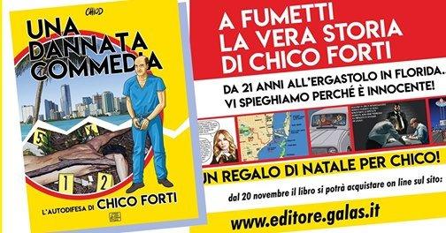 """Redazione Italiana Windsurf – Lunedì 23 Novembre ore 21 diretta per """"Una Dannata Commedia"""", nuovo libro a fumetti"""
