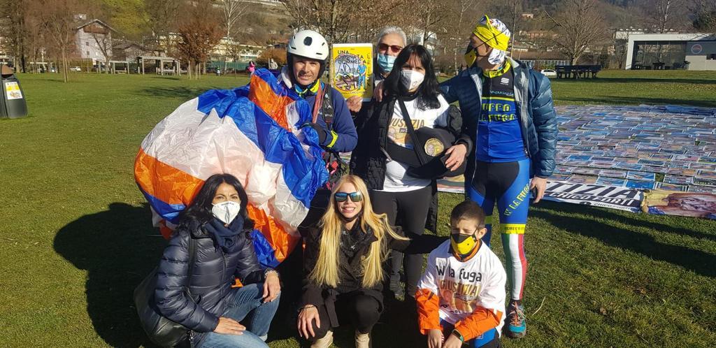 TRENTINO TV – Il Triathlon per Chico Forti e il nuovo libro a fumetti