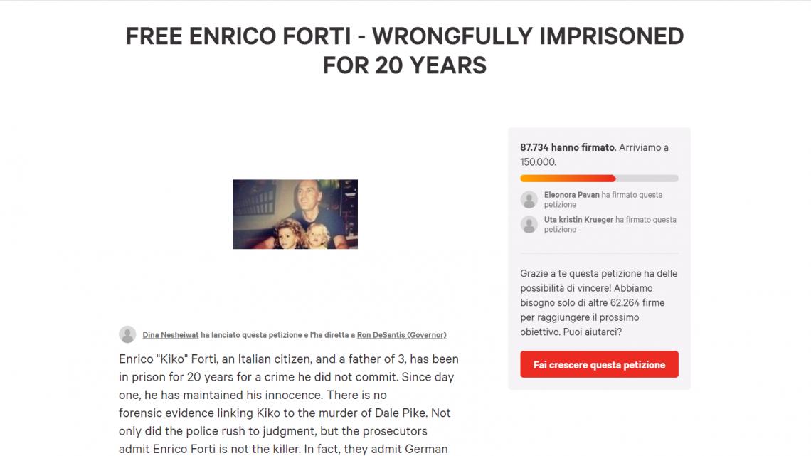 Aiutiamo Chico – TUTORIAL per firmare la PETIZIONE GRATUITA.