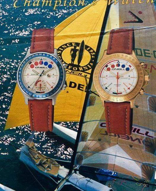 Linea di orologi disegnata da Chico per O'NEILL