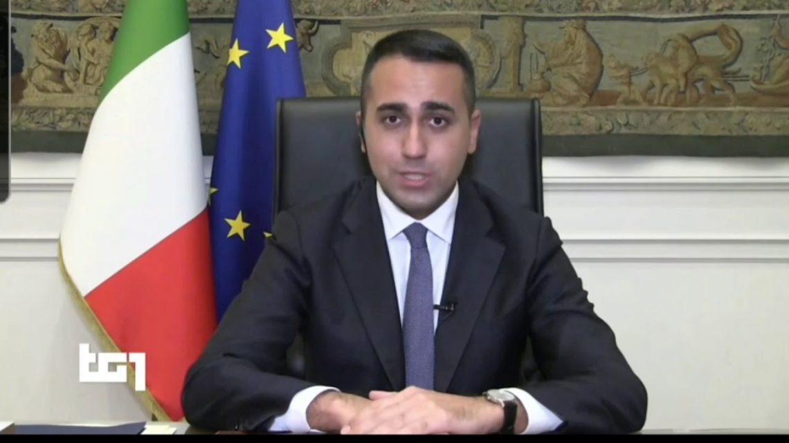 """TG1.LUIGI DI MAIO – """"Stiamo lavorando con Washington per riportare Chico Forti in Italia"""""""