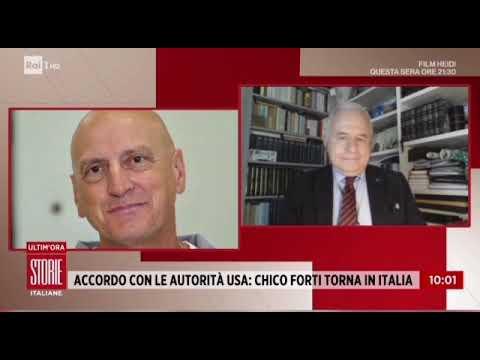 RA1 – STORIE ITALIANE – Chico Forti e il suo rientro in Italia