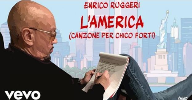 Enrico Ruggeri – L'AMERICA (canzone per Chico Forti)