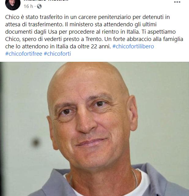 """MAURIZIO MATTIOLI – """"Ti aspettiamo Chico"""""""