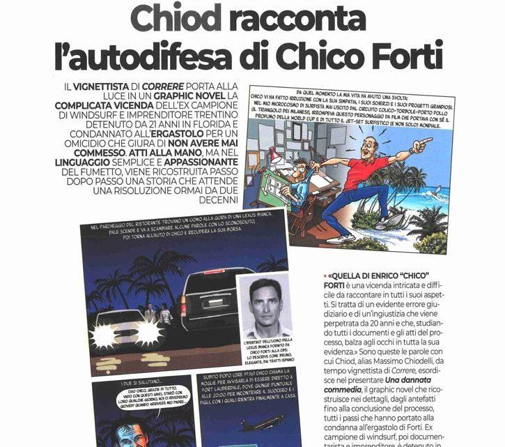 """CORRERE: """"Chiod racconta l'autodifesa di Chico Forti"""""""