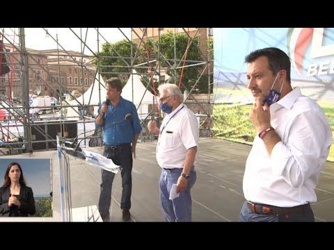 Gianni Forti parla di Chico a Roma, su invito del Governatore Maurizio Fugatti e dell'On. Matteo Salvini. Presentazione di Nicola Porro