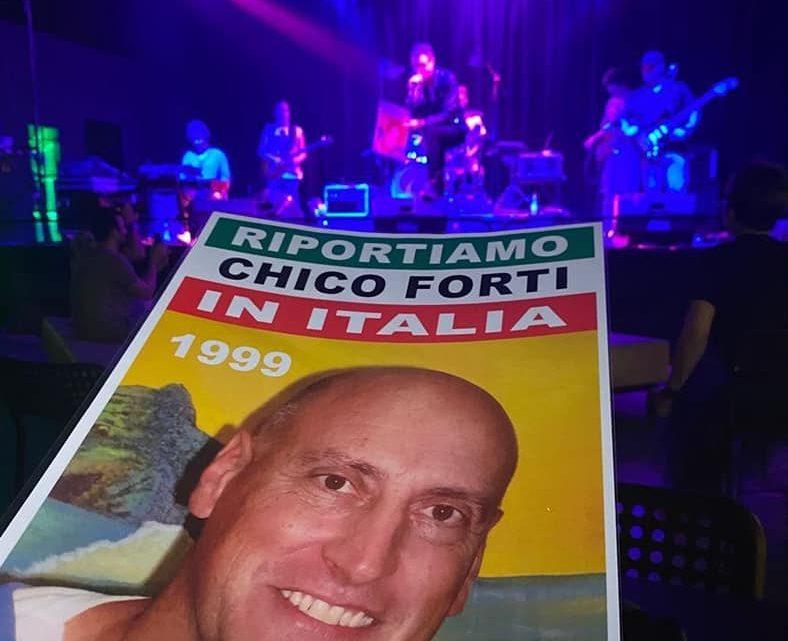 MICHELE CRISTOFORETTI dedica il suo concerto a Chico Forti