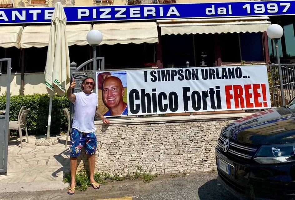 """Ristorante – pizzeria """"I Simpson"""" per Chico"""
