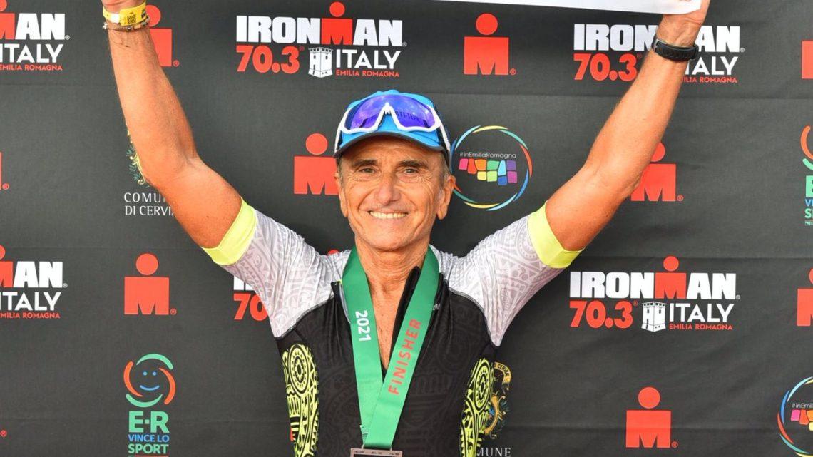 Chico per Lorenzo Moggio, secondo classificato nella Ironman Italy 70.3